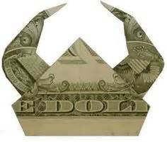 Money Hat Origami - origami money on money origami dollar