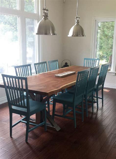 Custom Dining Tables Toronto Custom Dining Tables By Rebarn Rebarn Toronto Sliding Barn Doors Hardware Mantels