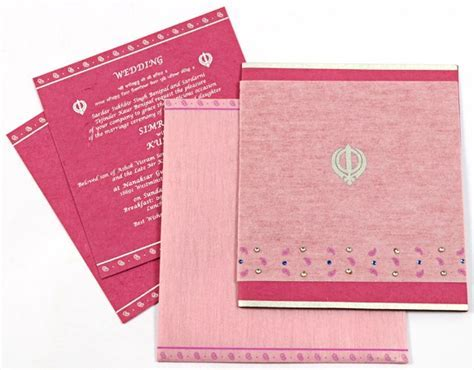 17 Best images about Sikh wedding invitation card on