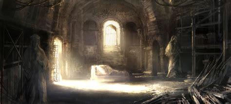 fantasy underground film room church hideout 03 by atomhawk on deviantart