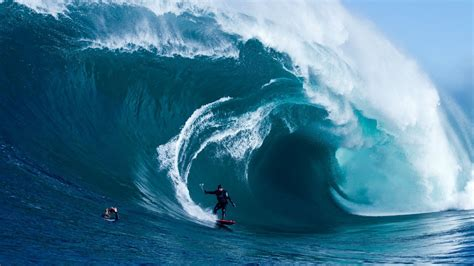 extreme surfing huge waves hd wallpaper