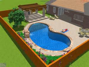 Swimming Pool Backyard Designs Back Yard Swimming Pool Designs