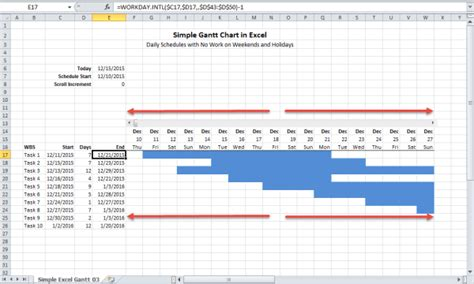 Do Calendar Days Include Weekends How To Build A Gantt Chart In Excel