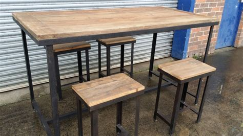 Modern Dining Room Table Set by Rustic Counter Height Table Set Decorative Trend Rustic
