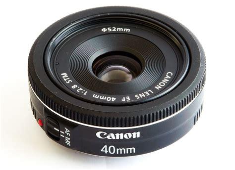Canon Lens Ef 40mm F2 8 Stm canon ef 40mm f 2 8 stm pancake lens