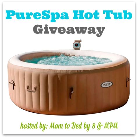 Hot Tub Giveaway - purespa hot tub giveaway ends 7 3 swanky point of view