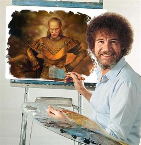bob ross guest painter bob ross ghostbusters painting what bobs