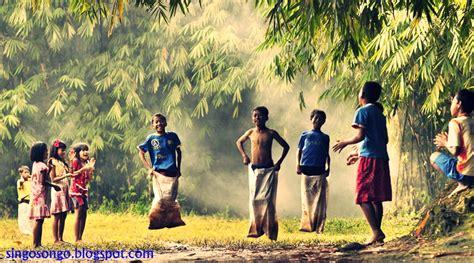 permainan tradisional indonesia anak anak jaman dulu yang masih teringat singosongo