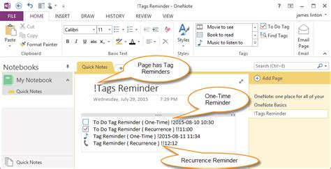 onenote gtd productivity with freeform notes