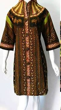 Dress Batik Sinaran Sogan dress batik tulis model baju kerja baju kerja batik