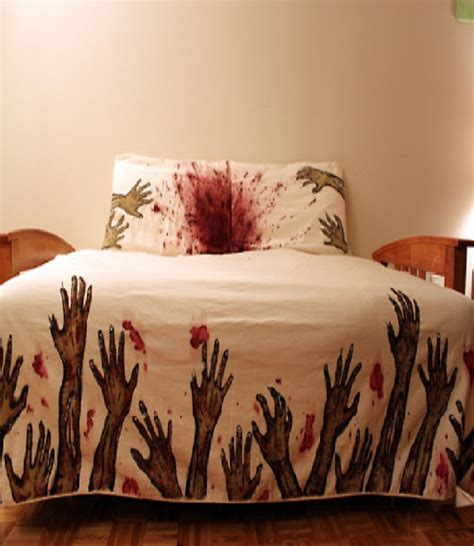zombie bed sheets zombie bed sheet most insane bed sheets