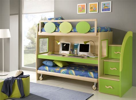 Small Childrens Bunk Beds 50 Brilliant Boys And Room Designs Unoxtutti From Giessegi Digsdigs
