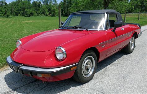 1986 Alfa Romeo Spider Graduate by 1986 Alfa Romeo Spider Connors Motorcar Company