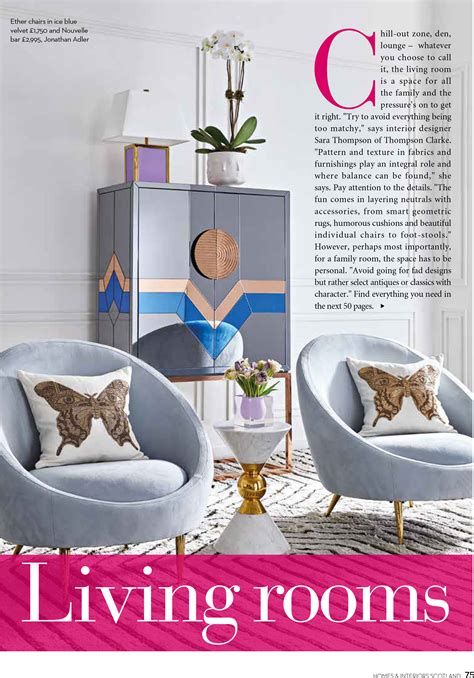 scotland s homes and interiors september october 2017