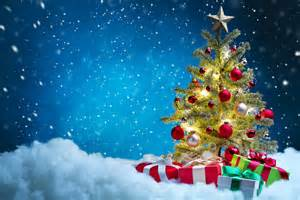 image new year christmas tree snow present holidays 7000x4667