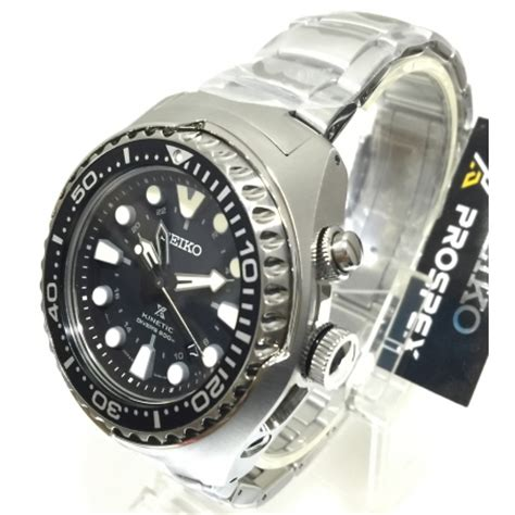 Seiko Prospex Sun019p1 Kinetic Gmt Divers 200m Jam Tangan Seiko seiko prospex kinetic gmt 200m air divers sun019p1