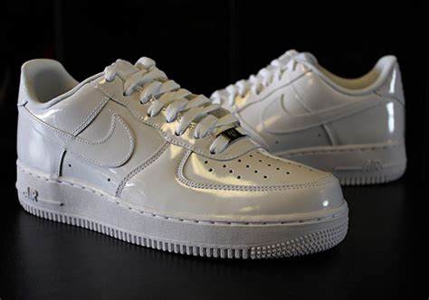 Nike Air 1 Low Leather All White nike air 1 low quot white on white quot patent leather