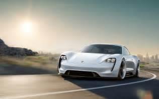 Porsche Electric Supercar Porsche Mission E An All Electric Supercar Concept Has