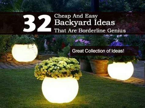 cool cheap backyard ideas large and beautiful photos