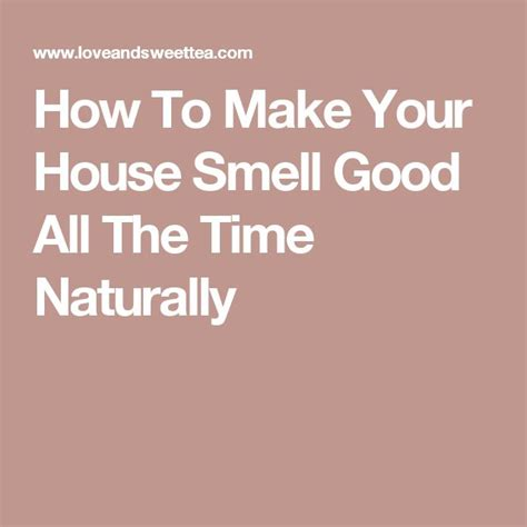 how to make house smell good best 25 house smell good ideas on pinterest house smell