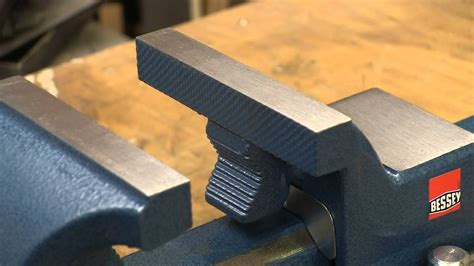 industrial bench vice bessey 4 quot industrial bench vise youtube