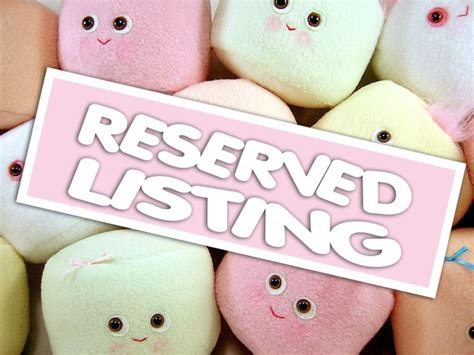 Reserved Listing Y2018 01 faire un 171 reserved listing 187 fran 231 ais d etsy