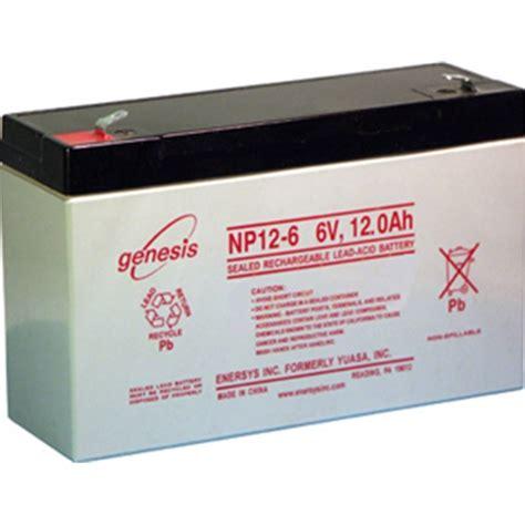 genesis battery osi batteries enersys genesis np12 6 battery 6v 12ah