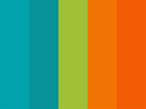 color combination for green orange green color palette www pixshark com images