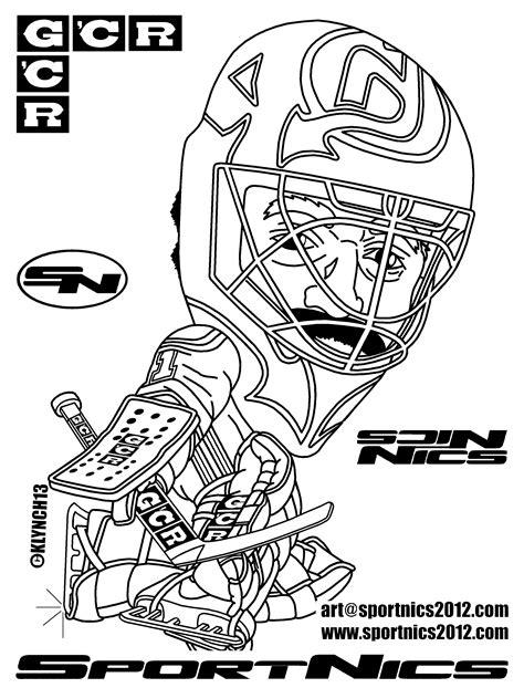 coloriage hockey les beaux dessins de sport 224 imprimer