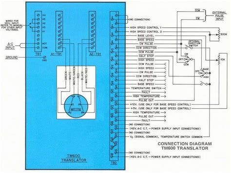 superior electric slo syn stepper motor wiring diagram