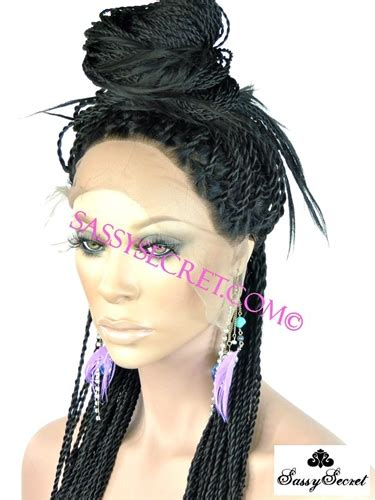 box braided wigs ombre box braided lace wig micro braid lace wig sassy