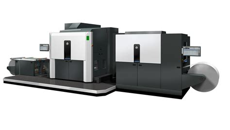 Printer Hp Indigo 10000 wide web digital printing for packaging takes