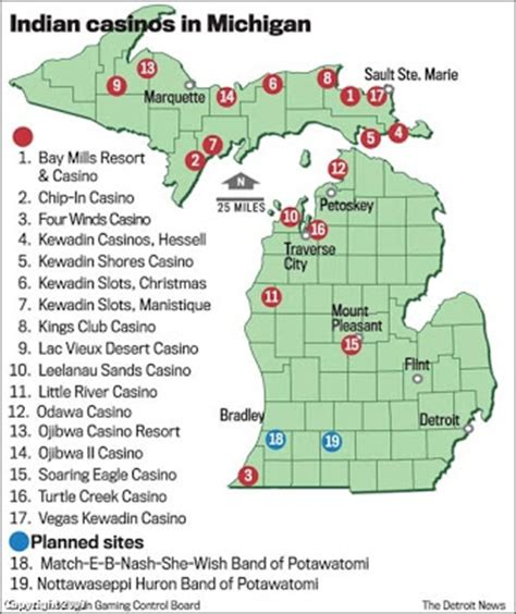indian casinos in map the verifiable map of indian casinos in michigan