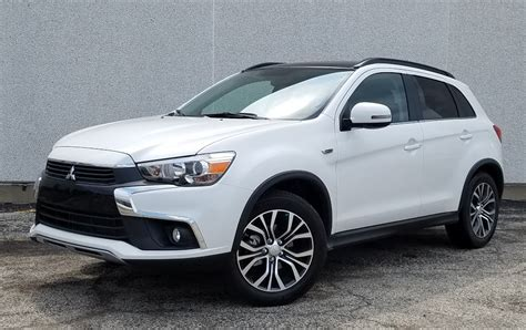 2016 white mitsubishi outlander test drive 2016 mitsubishi outlander sport gt the daily