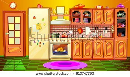 Kitchen Knives For Children cartoon kitchen stock images royalty free images