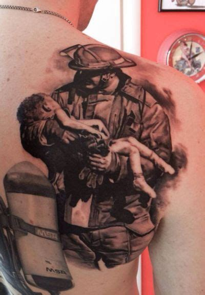 crazy ink tattoo 78 best firefighter emt tattoos images on