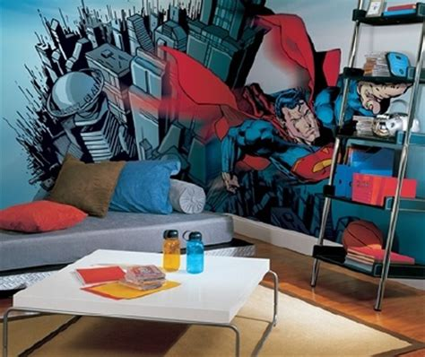superman bedroom decor superman wall sticker ideas
