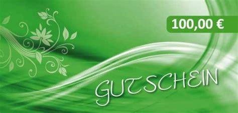 Aufkleber Drucken Lassen Gutschein by Festwertgutscheine Mit 100 Eur Wert Geschenkgutscheine