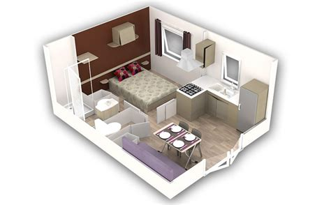 Micro Homes Mobil Home 2 Pers