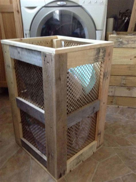 Pallet Laundry Hamper ? 1001 Pallets