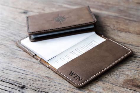 Leather Travel Wallet Passport Cover personalized leather passport cover handmade joojoobs