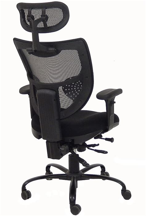Office Chairs That Hold 400 Pounds 24 7 400 Lbs Capacity Multi Function Mesh Chair W Headrest