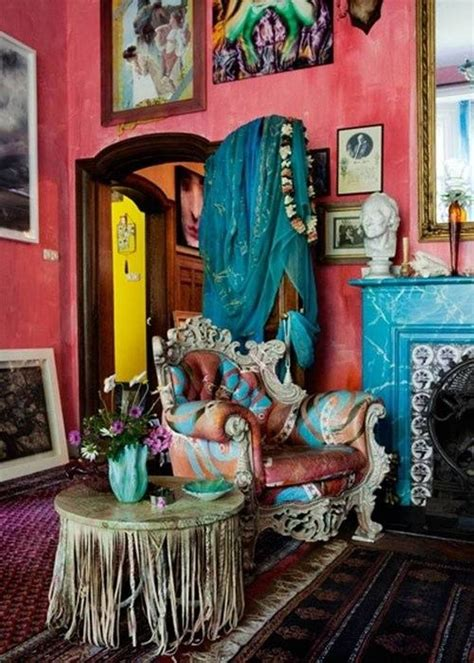gypsy style home decor 17 best images about bohemian decor on pinterest peacock