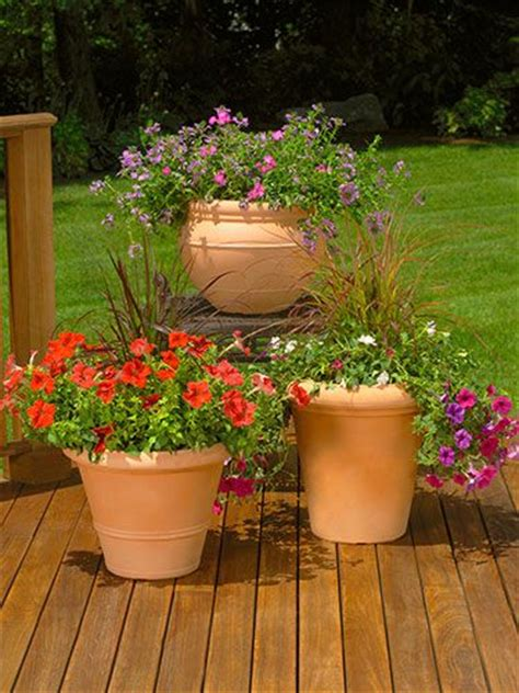 Decorating Patio With Potted Plants by Freshen Up Your Patio