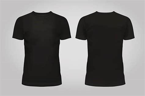 t shirt template black front and back vectores de camisa y illustraciones libre de derechos istock