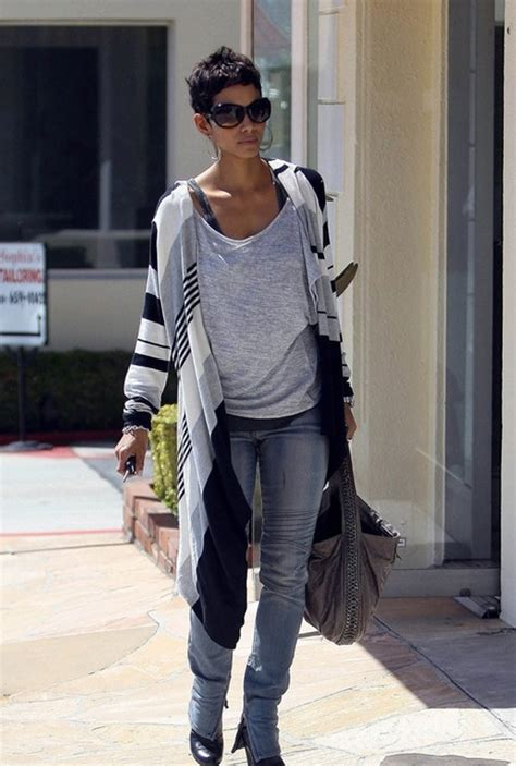 Style Halle Berry by Top Fashion April 2011