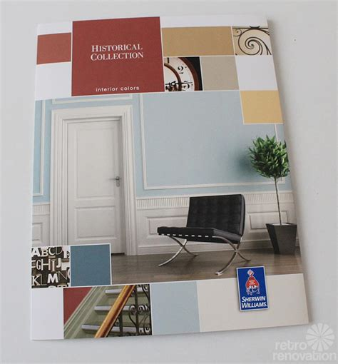 our secret to get paper swatches for all sherwin williams suburban modern paint colors retro