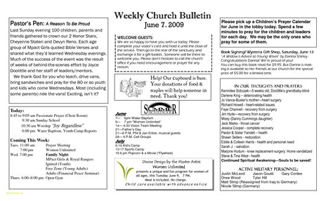 free templates for church bulletins new free printable church program templates downloadtarget