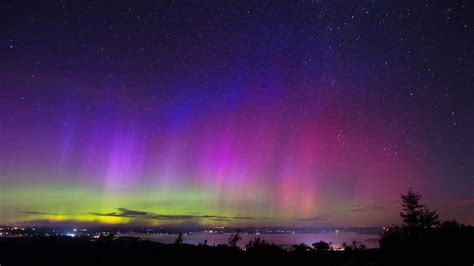 northern lights in maine 2017 the northern lights shined on in