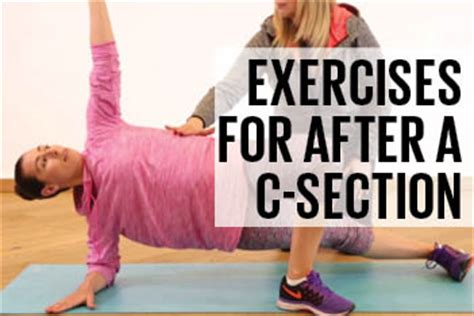 exercises to do after c section exercise after c section 5 safe moves today s parent